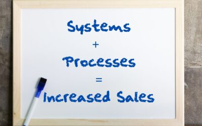 Systems plus processes equals increased sales